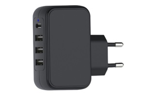 TA-601 4 Port Compact micro usb wall charger