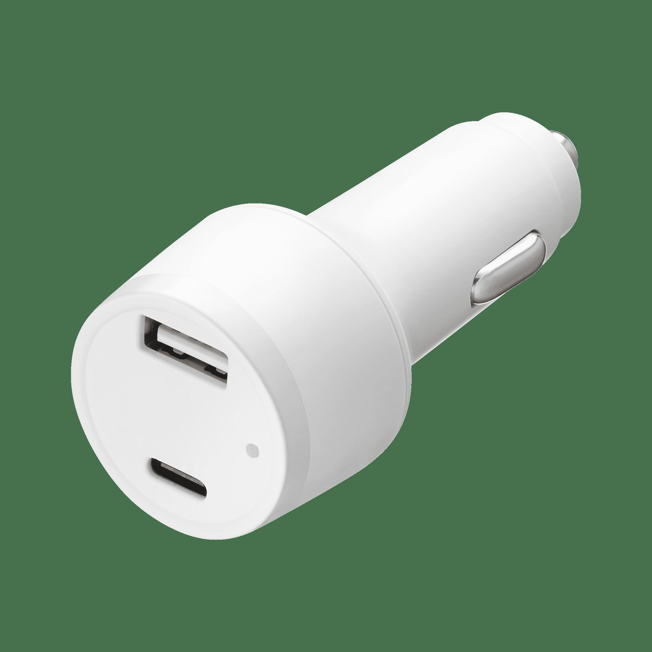 TPD-B42W24W 42W PD  USB C + USB A (2.4A) Type-C Car Charger