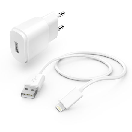 TAP-110MF WALL CHARGER & MFI LIGHTNING SYNC CABLE