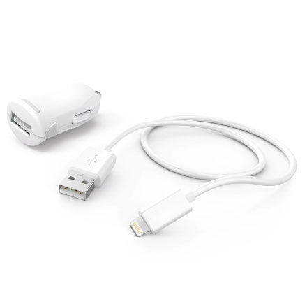 TPP-230WB CAR CHARGER & MFI LIGHTNING SYNC CABLE