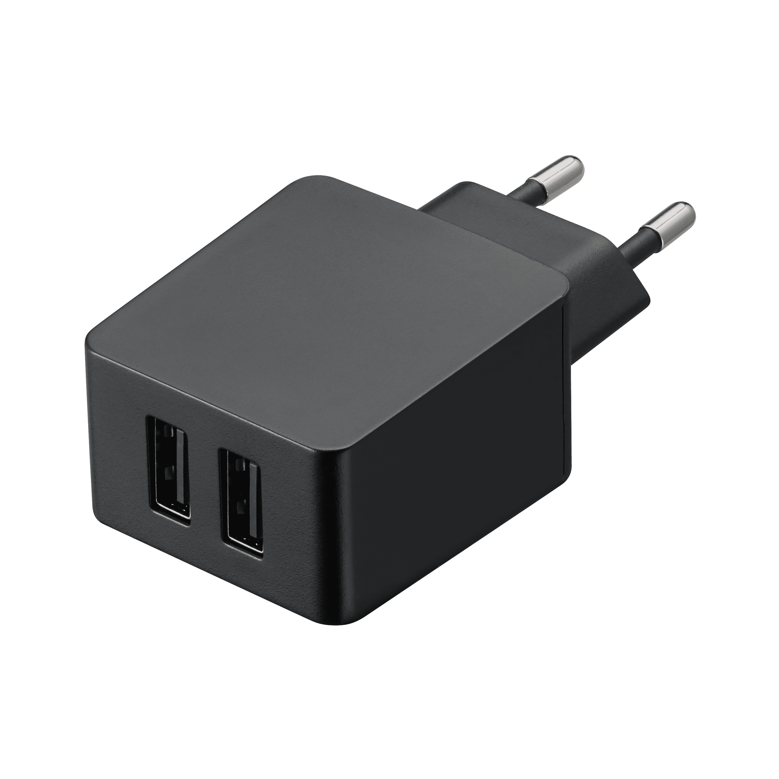 TA-227 Compact dual micro usb wall charger